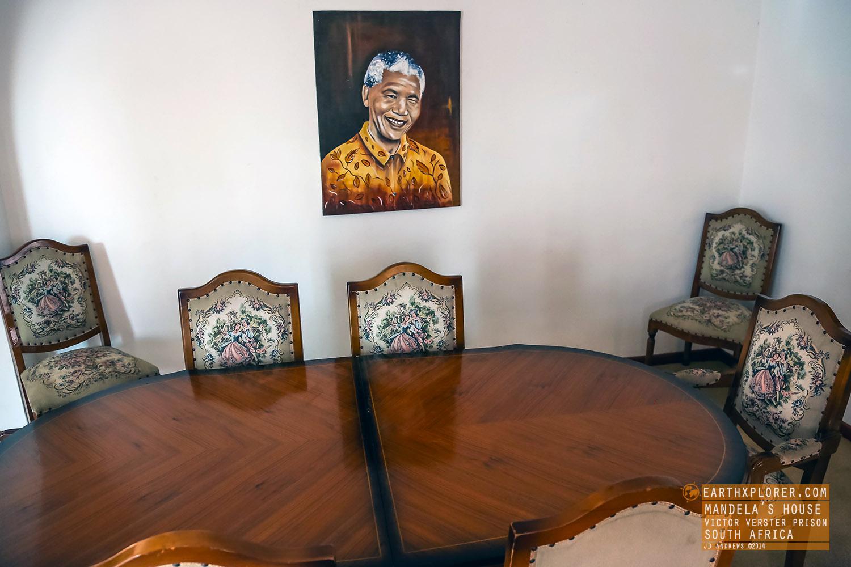 Dining Room Mandelas House Victor Verster Prison South Africa.jpg