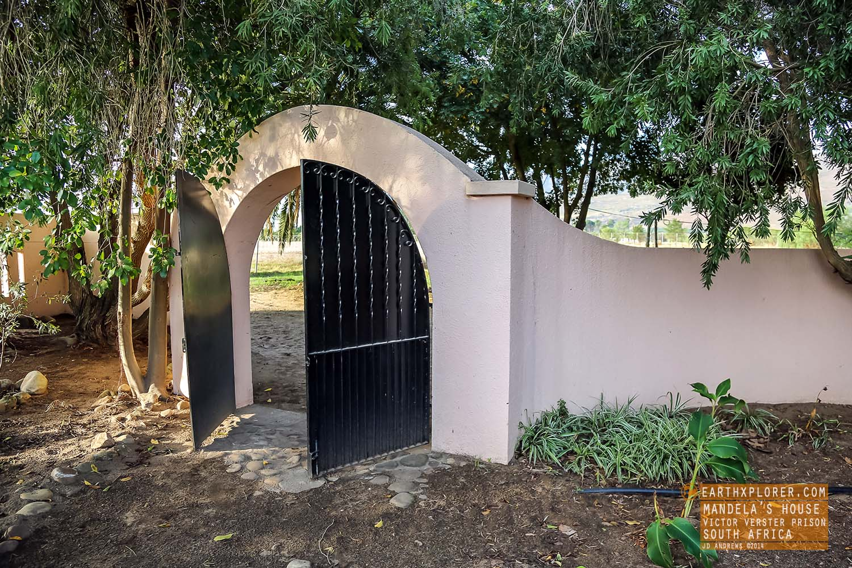 Gate Mandelas House Victor Verster Prison South Africa.jpg