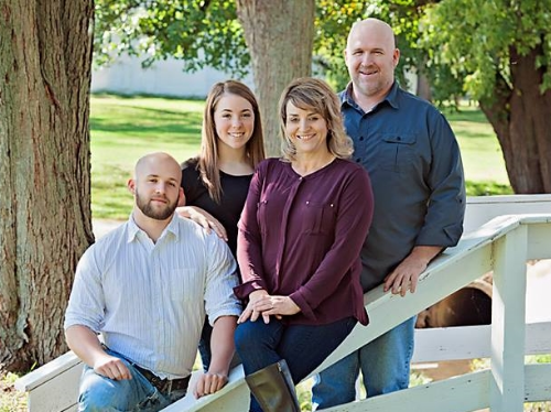 Lead Pastor Tim Rhodus and family.   Photo by Timeless Moments Photography/Sara Way