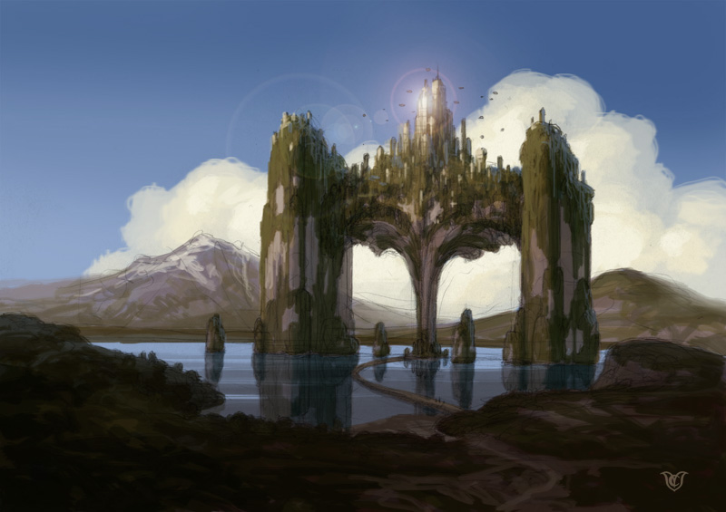 """Production design for the feature film """"Oz 3D"""". Project aborted."""