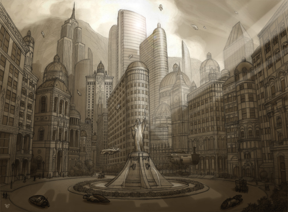 """Production design for the feature film """"Tale Keepers"""". Project aborted."""