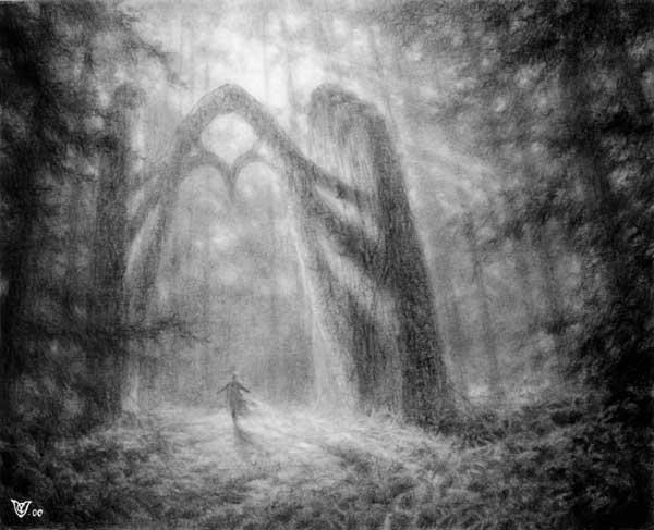 The Gate -Sketch
