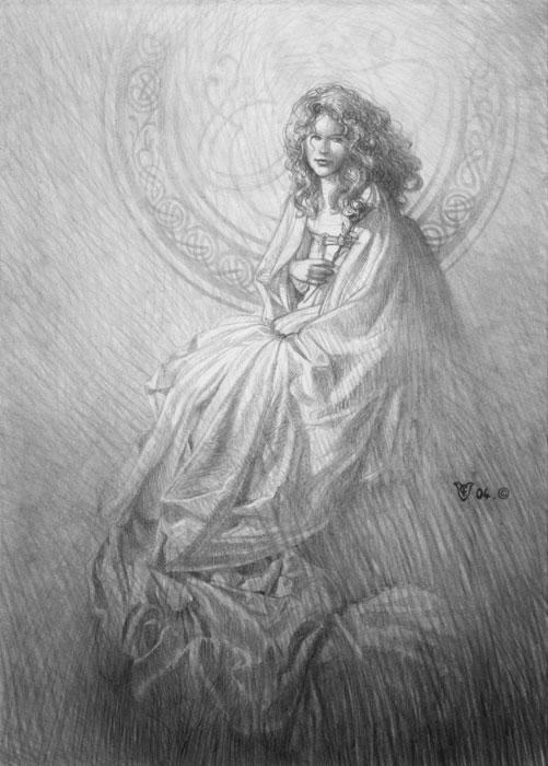 The wait -Sketch