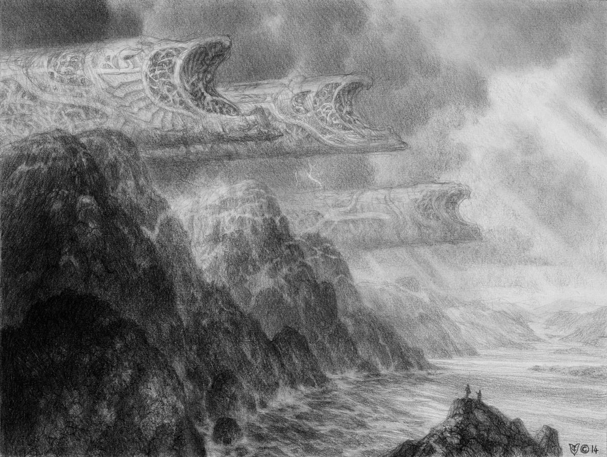 Northern Shores -Sketch