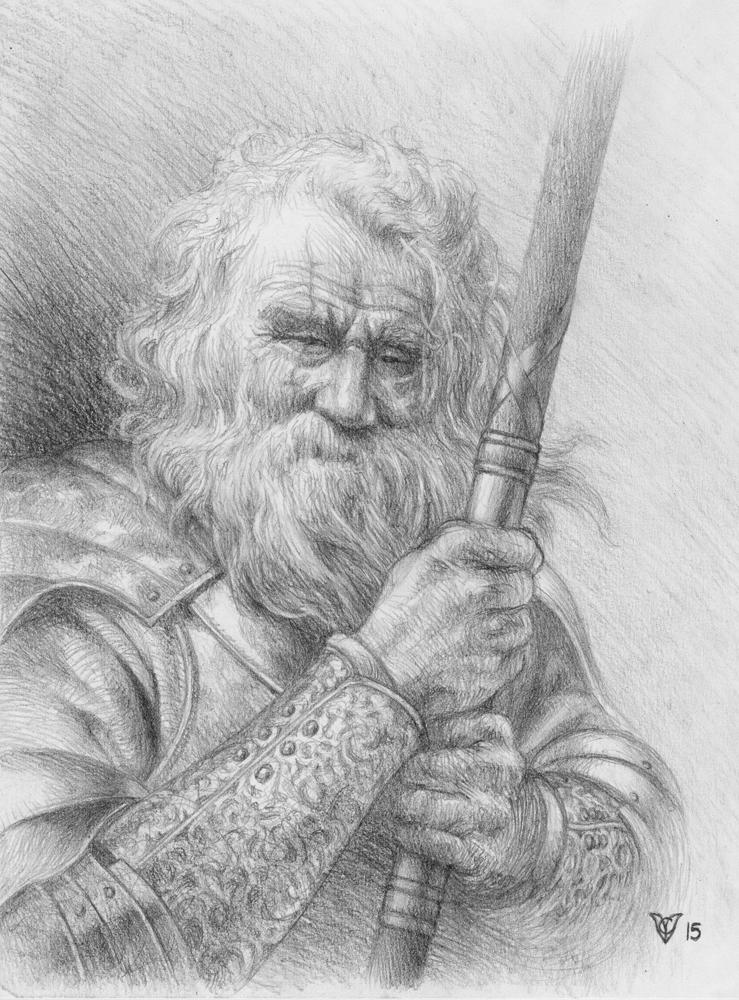 The Old Buzzard (sketch)