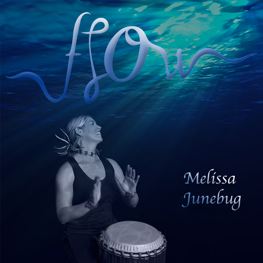 Melissa Junebug - Melissa Junebug is a drummer, percussionist, and songwriter from Georgia. She has performed on many albums but recently released her first solo album, FLOW. 'The River Sings' from the album co-produced and sung by Diane Durrett received a 2017 global Peace Song Award.