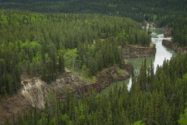 Miles Canyon near Whitehorse, Yukon, Canon 7D with Canon EF 28-300mm @ 50mm, 1/8s @ f/16, ISO 100