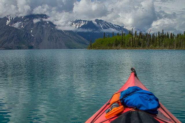Kathleen Lake, Kluane National Park, Yukon, Canon 7D with Canon EF 28-300mm @ 28mm, 1/8000s @ f/8, ISO 1600