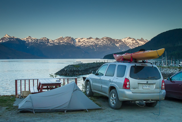 Oceanside Campground, Haines, Alaska, Canon 7D with Canon EF 28-300mm @ 28mm, 1/800s @ f/8, ISO 1600