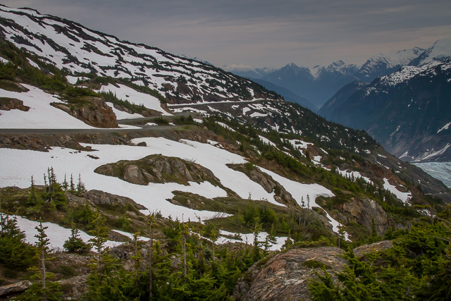 Salmon Glacier Road, British Columbia, Canon 7D with Canon EF 28-300mm @ 35mm, 1/200s at f/20, ISO 400