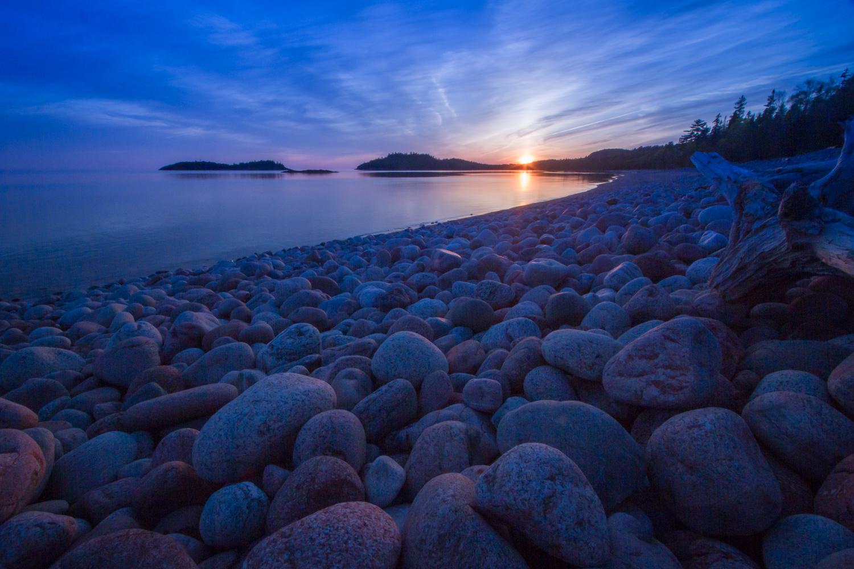 Gargantua Bay, Lake Superior Provincial Park, Ontario