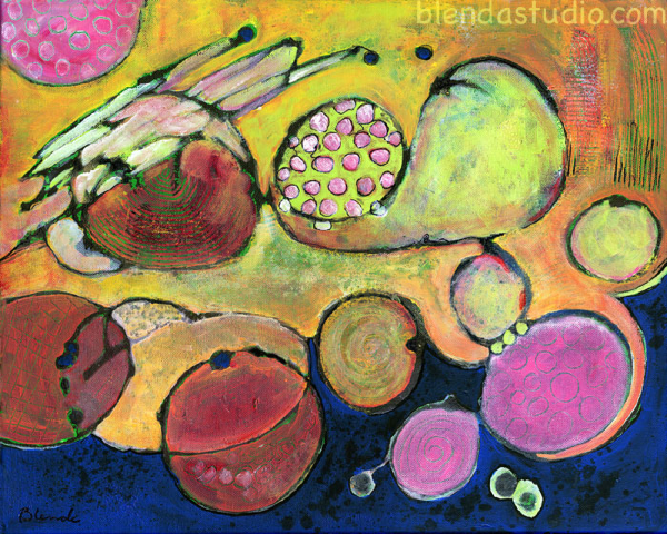 Plesae note: blendastudio.com Watermark is not on original painting
