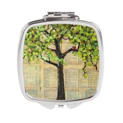 Cardinal Tree Compact Mirror $17