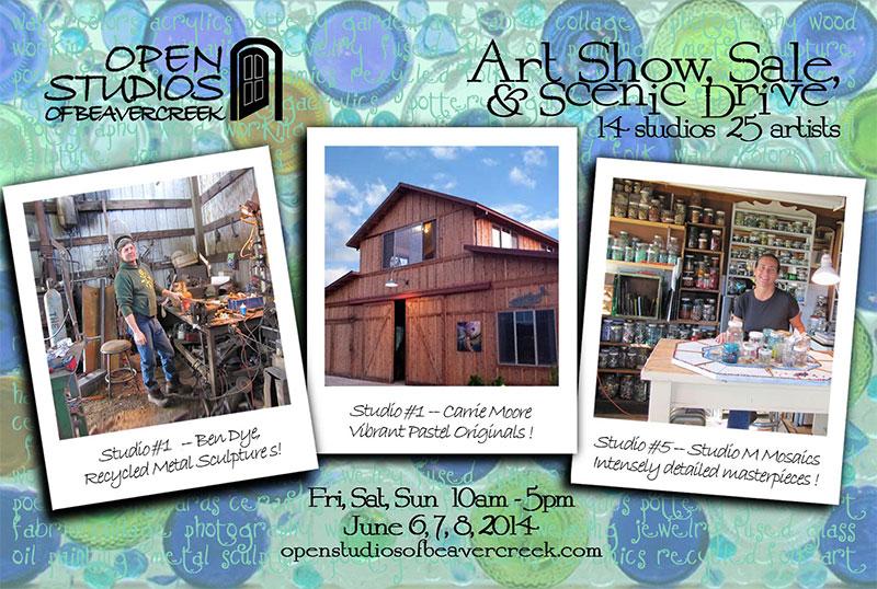 Open Studios of Beavercreek Tour June 2014