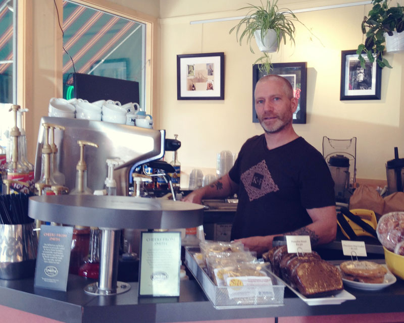 Dan , the manager of K&F coffee