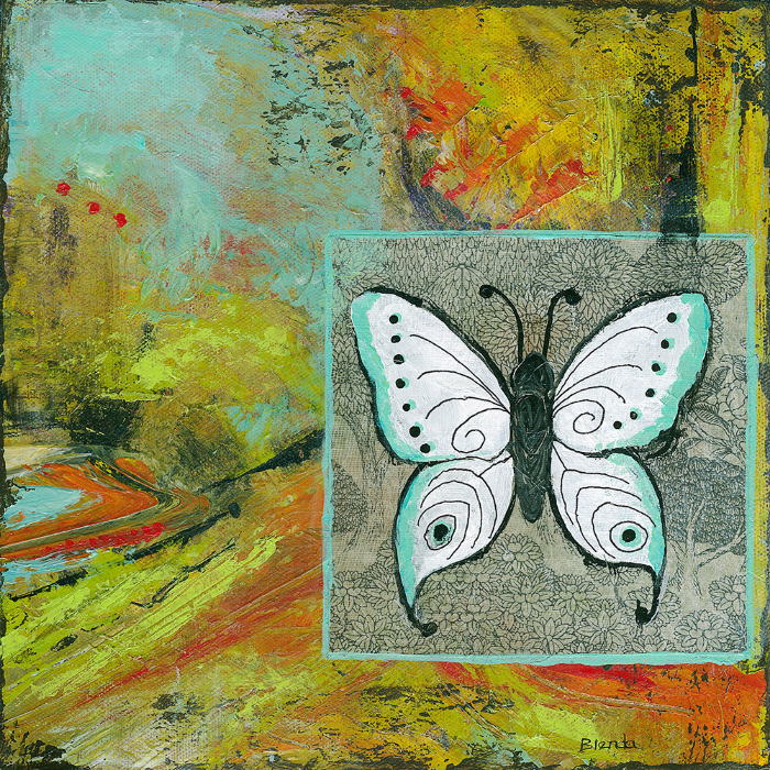Butterflies Are Free by Blenda Tyvoll