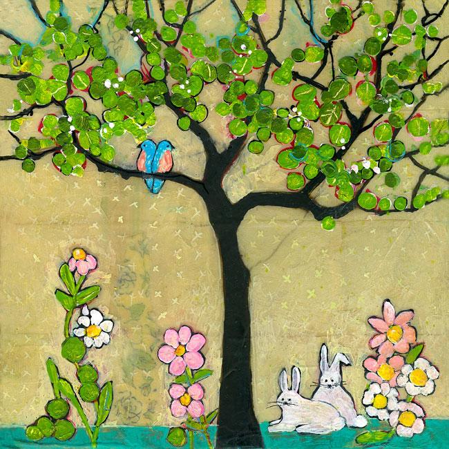 Pair Tree by Blenda Tyvoll