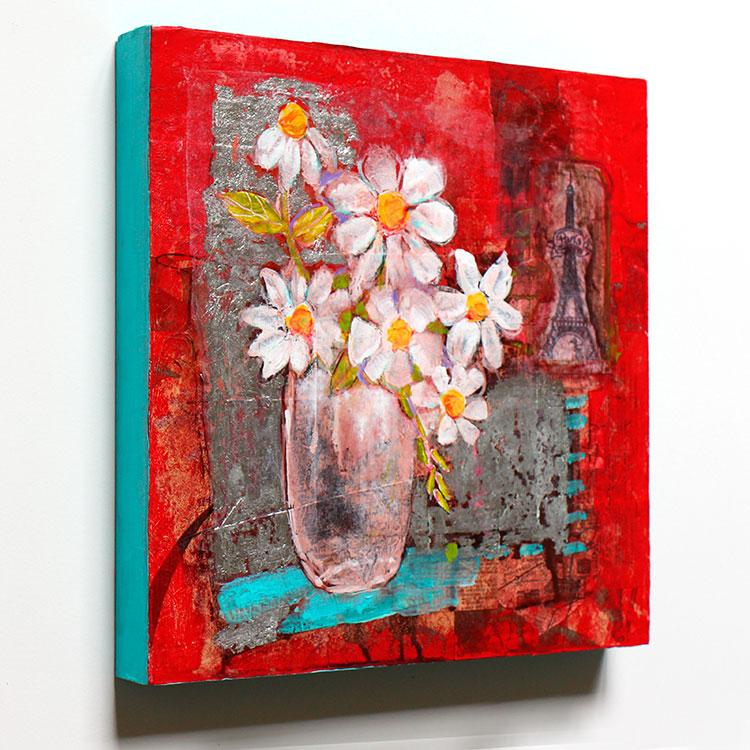 Update WINNER of Flower Painting is Lynne H. Congratulations!
