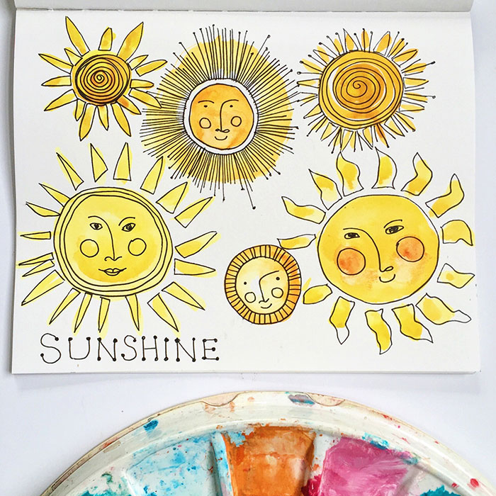Sunshine Sketch