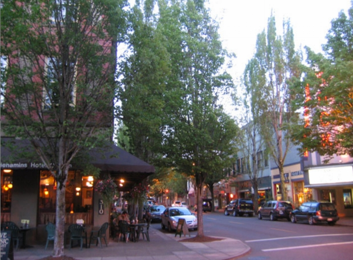 Historic McMinnville, OR Chosen as One of Parade Magazine's Best Main Streets in America.