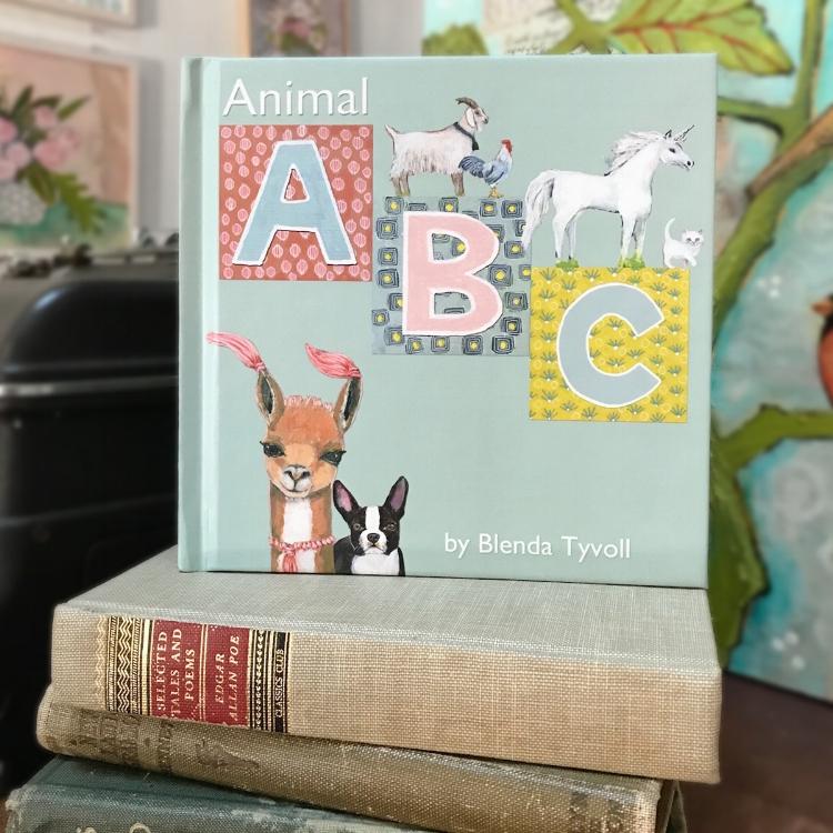 Animal ABC Book illustrations by Blenda Tyvoll