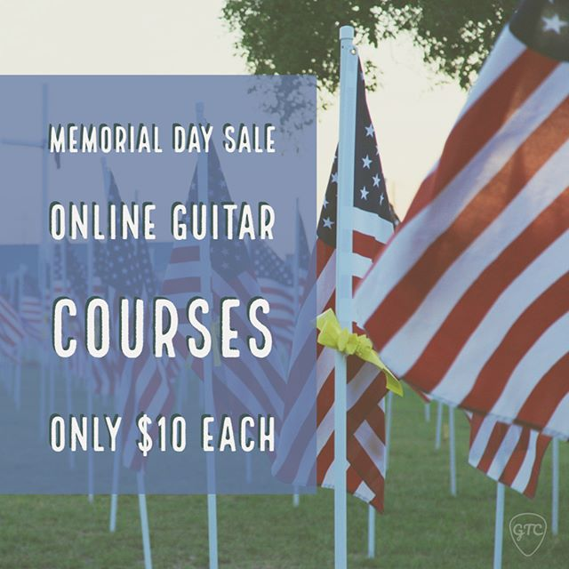 The Guitar Players Guide to Minor Scales Beginner Guitar Lessons: Your First 10 Guitar Lessons The Ultimate Guitar Players Guide to Major Scales. 3 great online guitar courses only $10 on Udemy. It's a great platform for online courses. Watch your course on demand, download it, take it on the go with the mobile app. It's great. The link to the course with the Memorial Day discount is in my profile link. Just scroll down until you see the links for my courses.