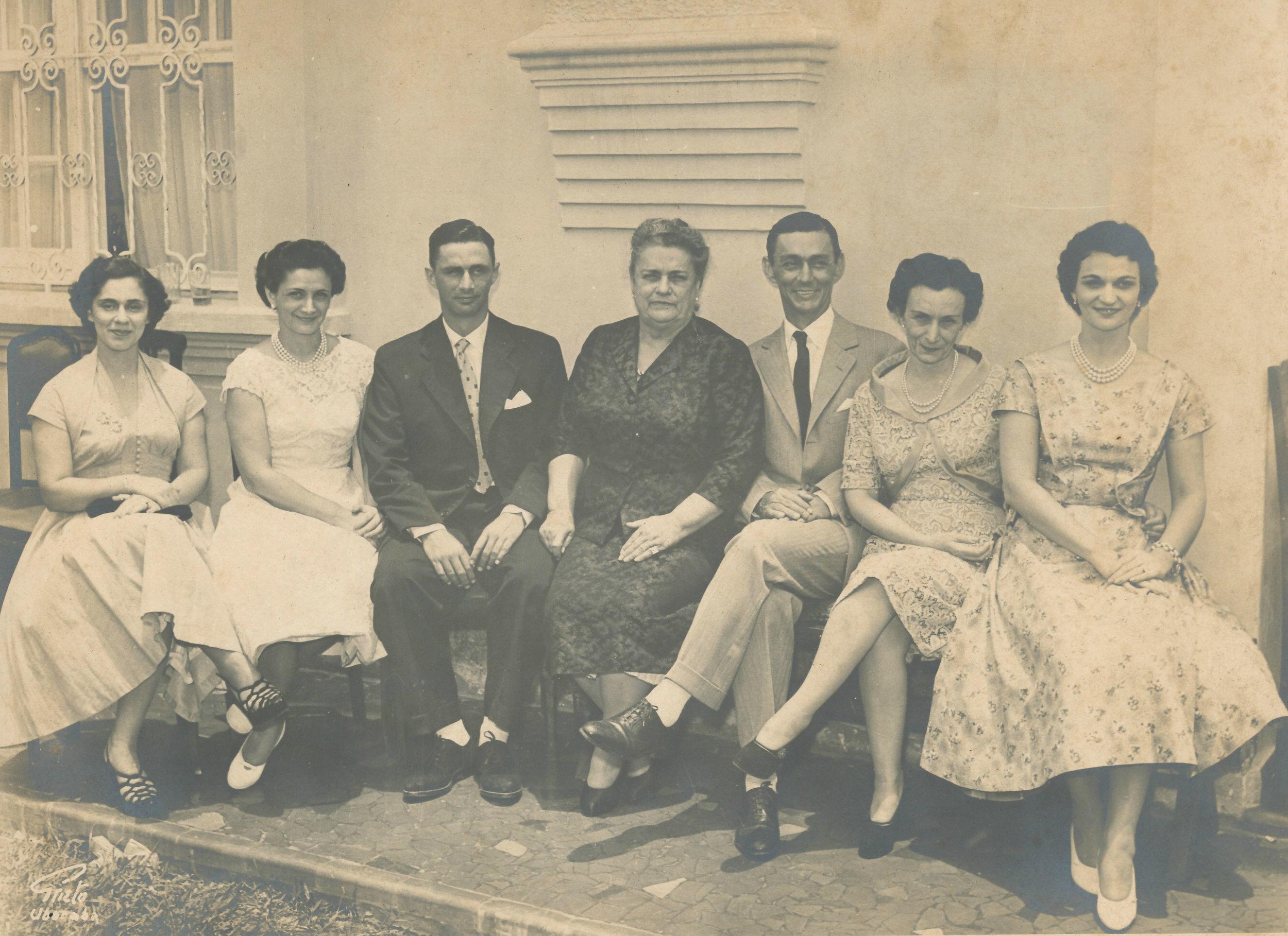 Grandma Teodora and her children