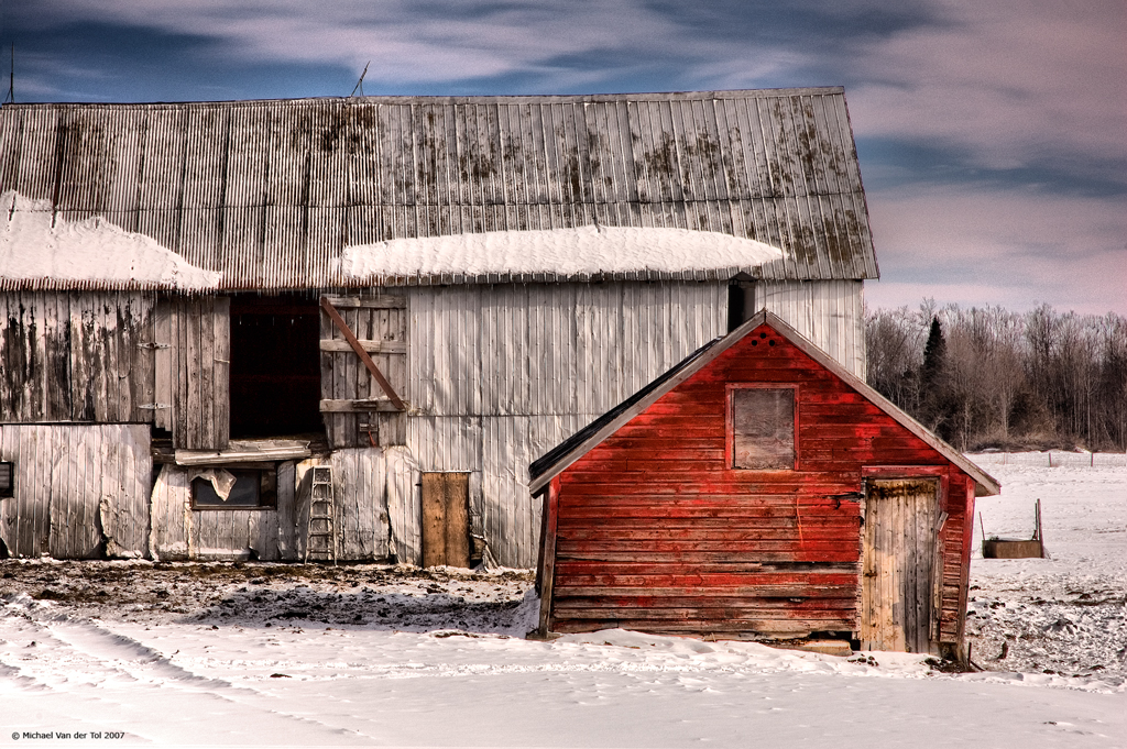The Red Shed, South Mountain, Ontario