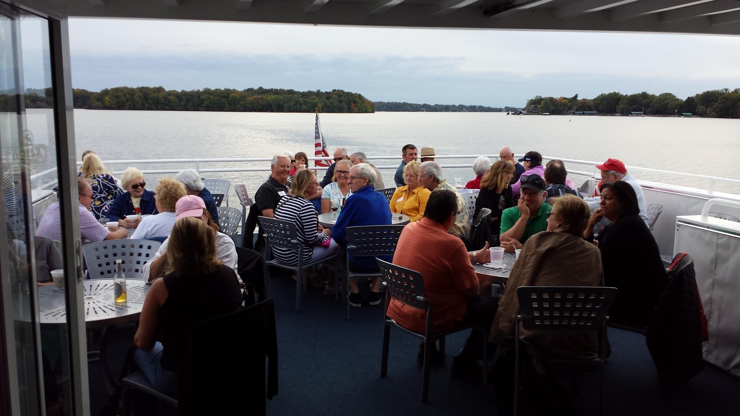2014 Fall Colors Boat Cruise on Lake Minnetonka