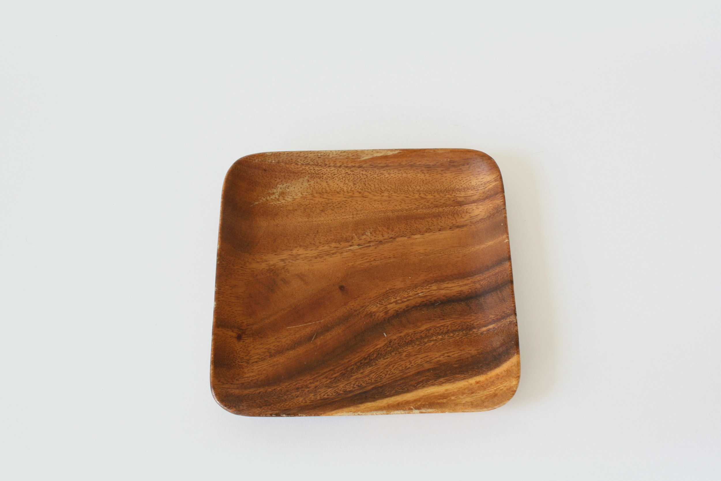 "56-1. wood plate | 7.5"""