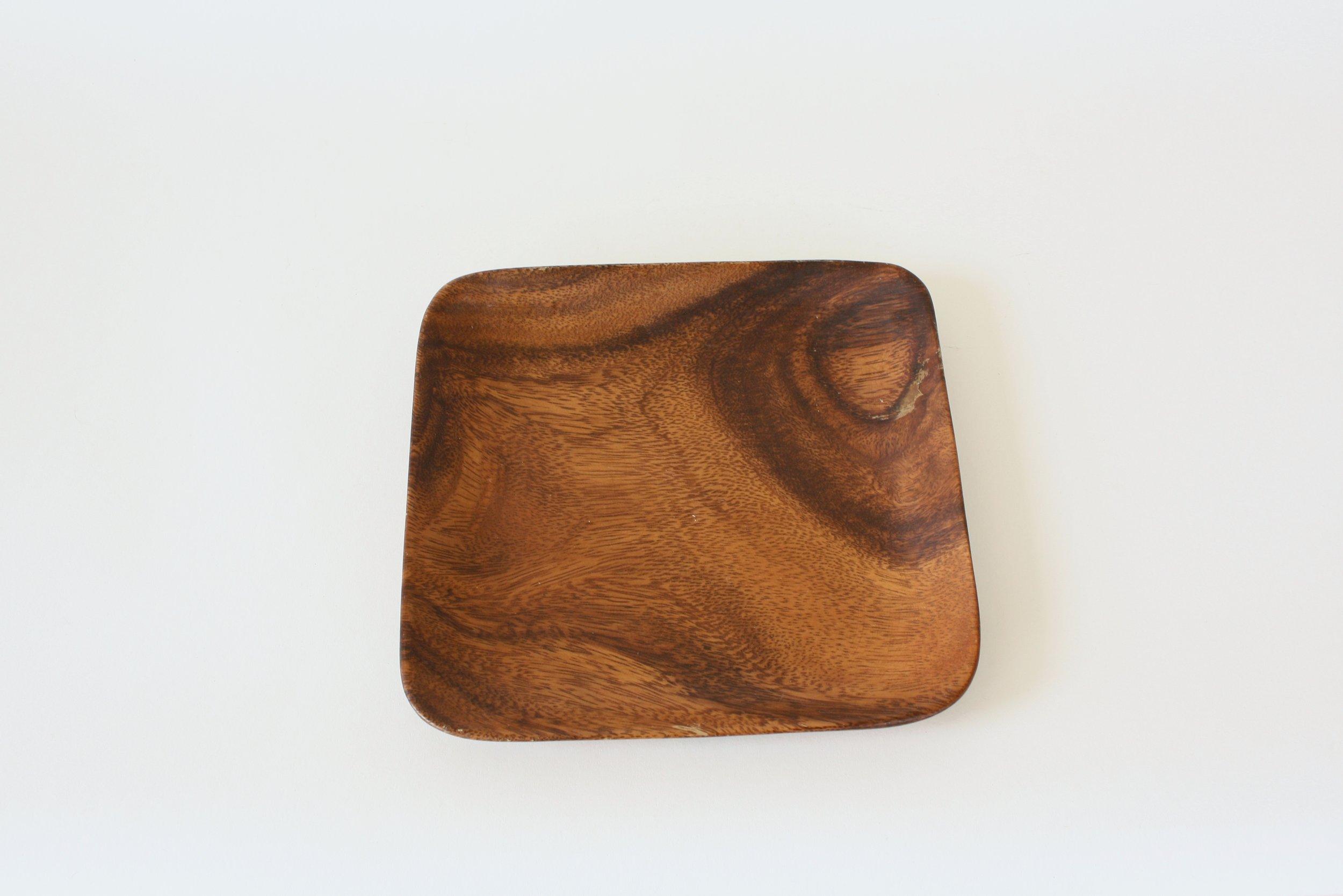 "56-2. wood plate | 7.5"""