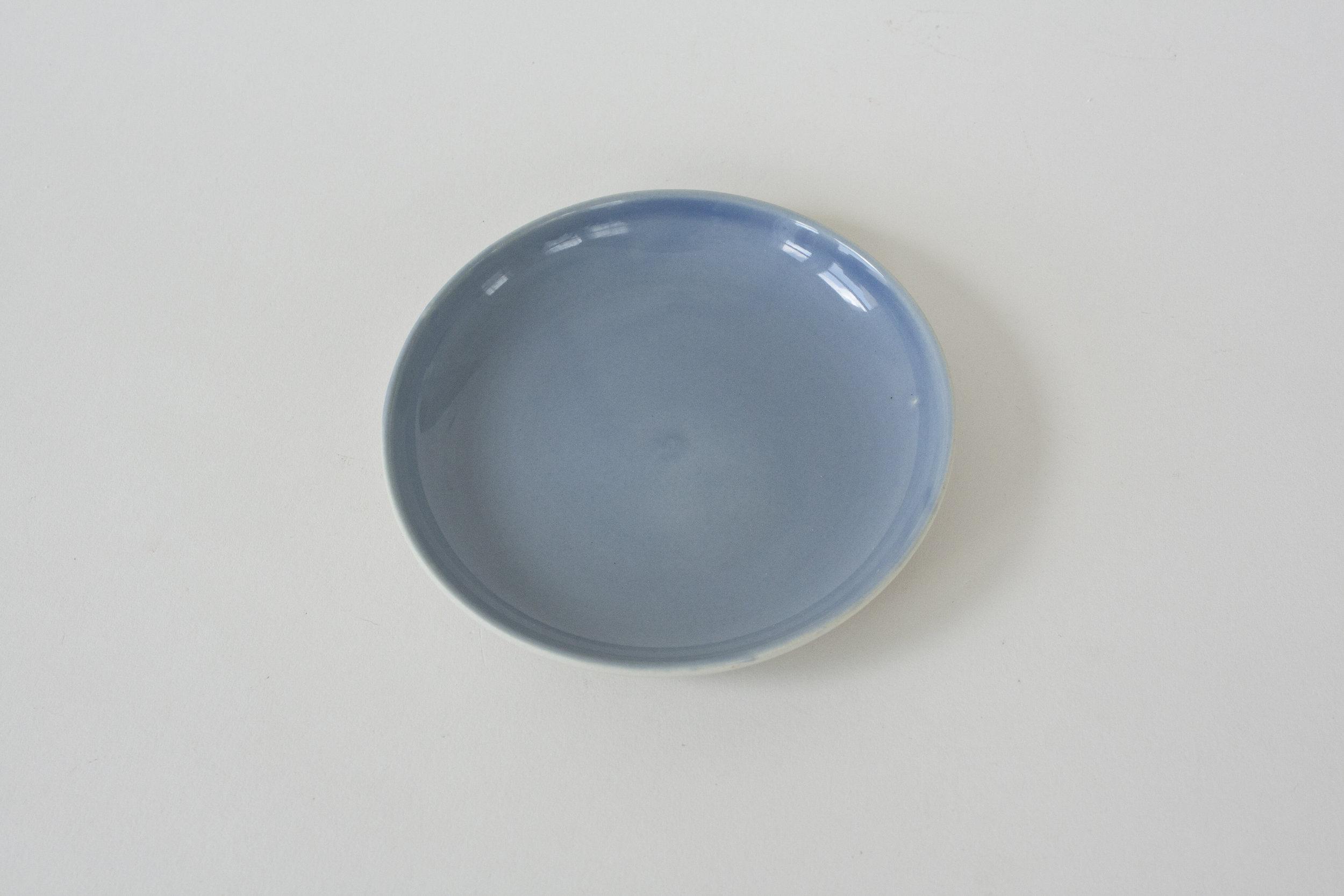 "262. blue plate | 5"""