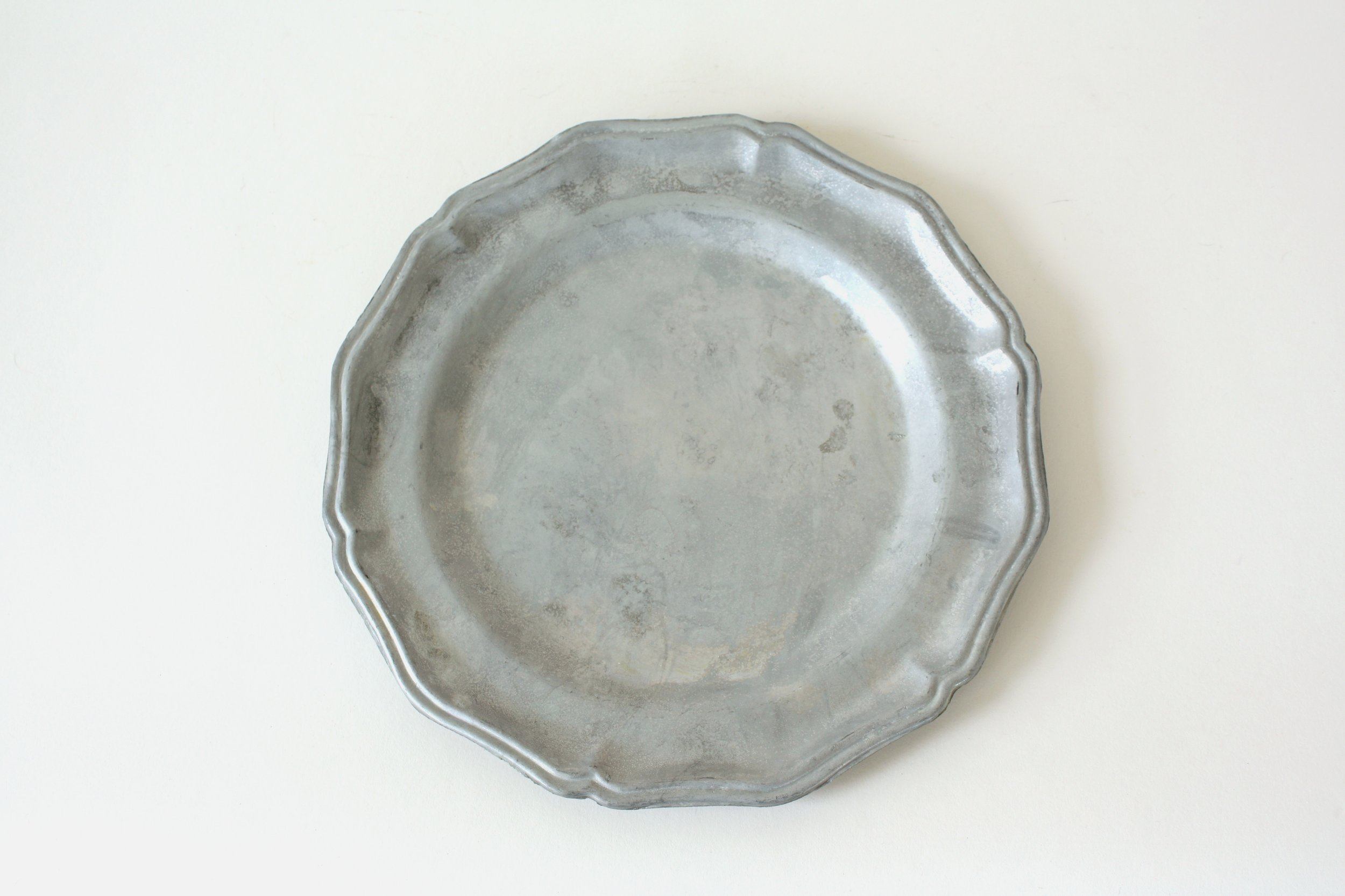 """232. pewter plate 