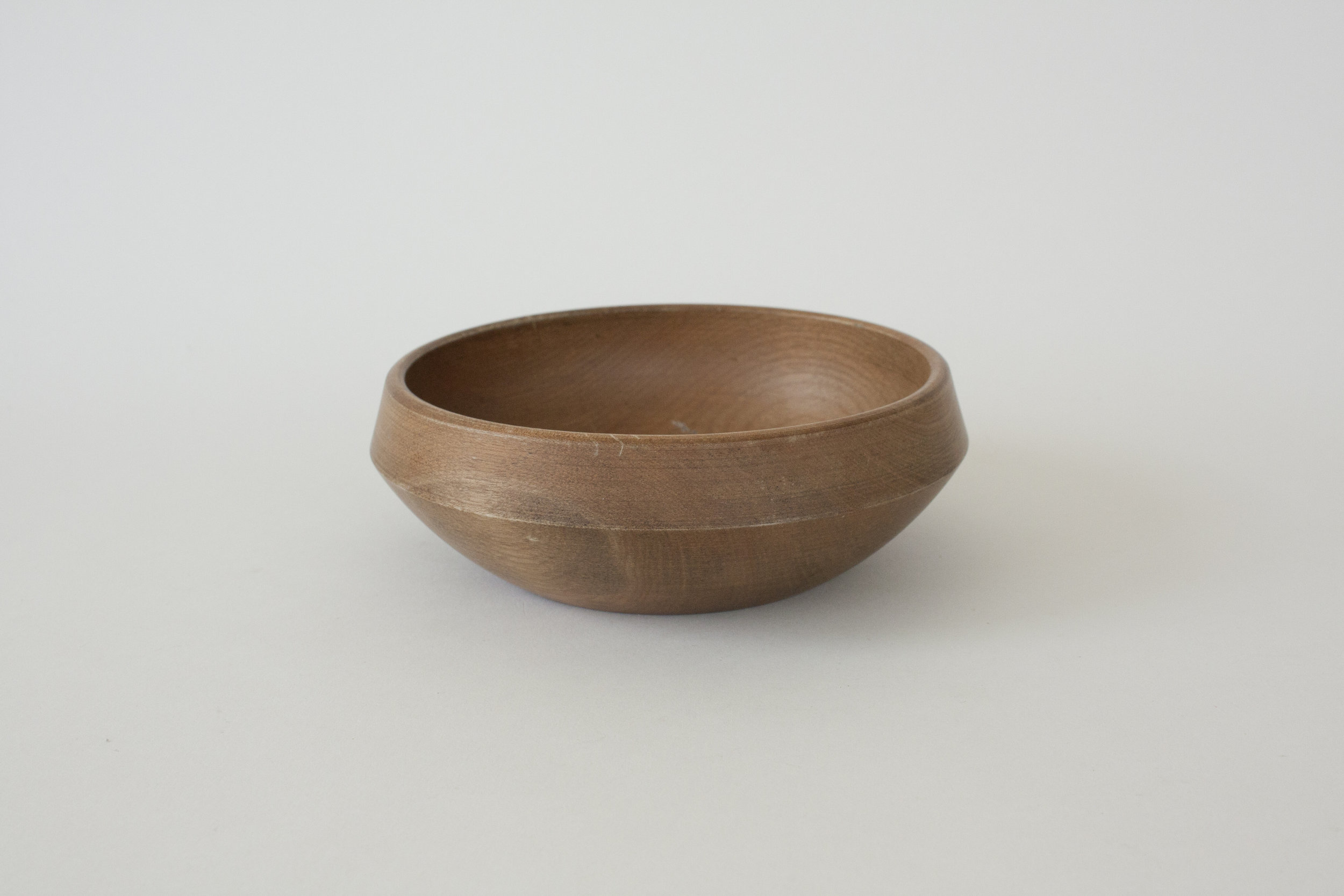 "264. wood bowl | 5.5"" x 2"" | 4"