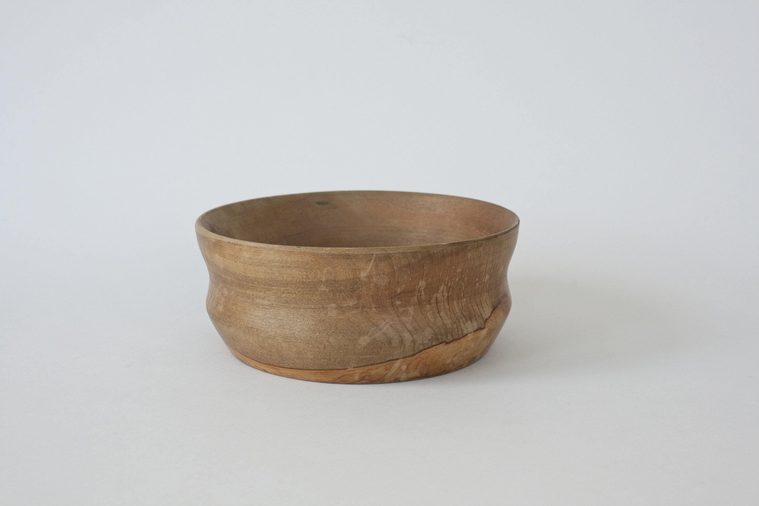 "272. wood bowl | 6"" x 2.5"""