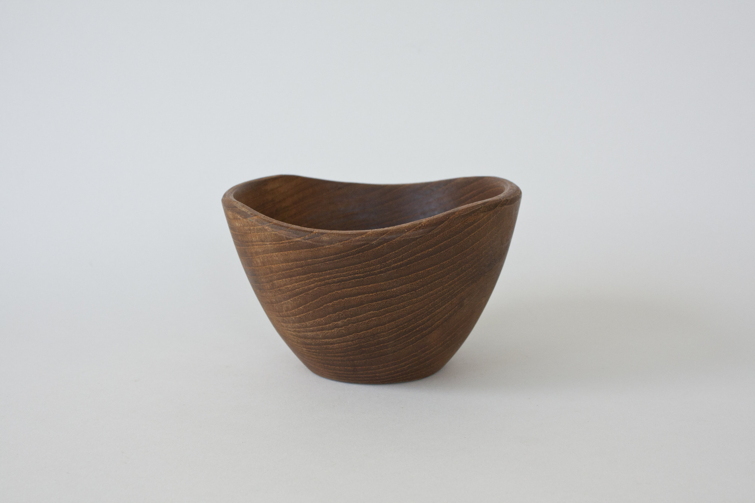 "274. wood bowl | 5.5"" x 3.5"""