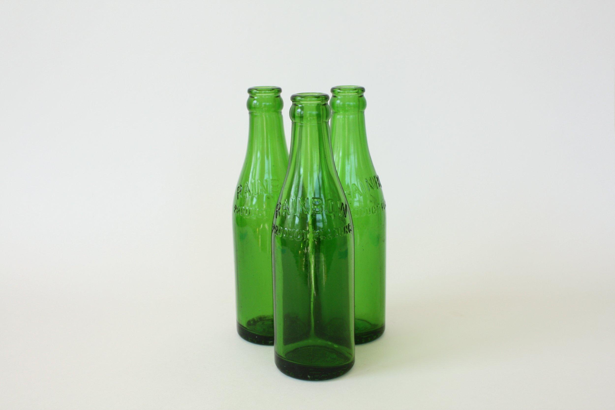 "190. green bottle | 8"" | 16"