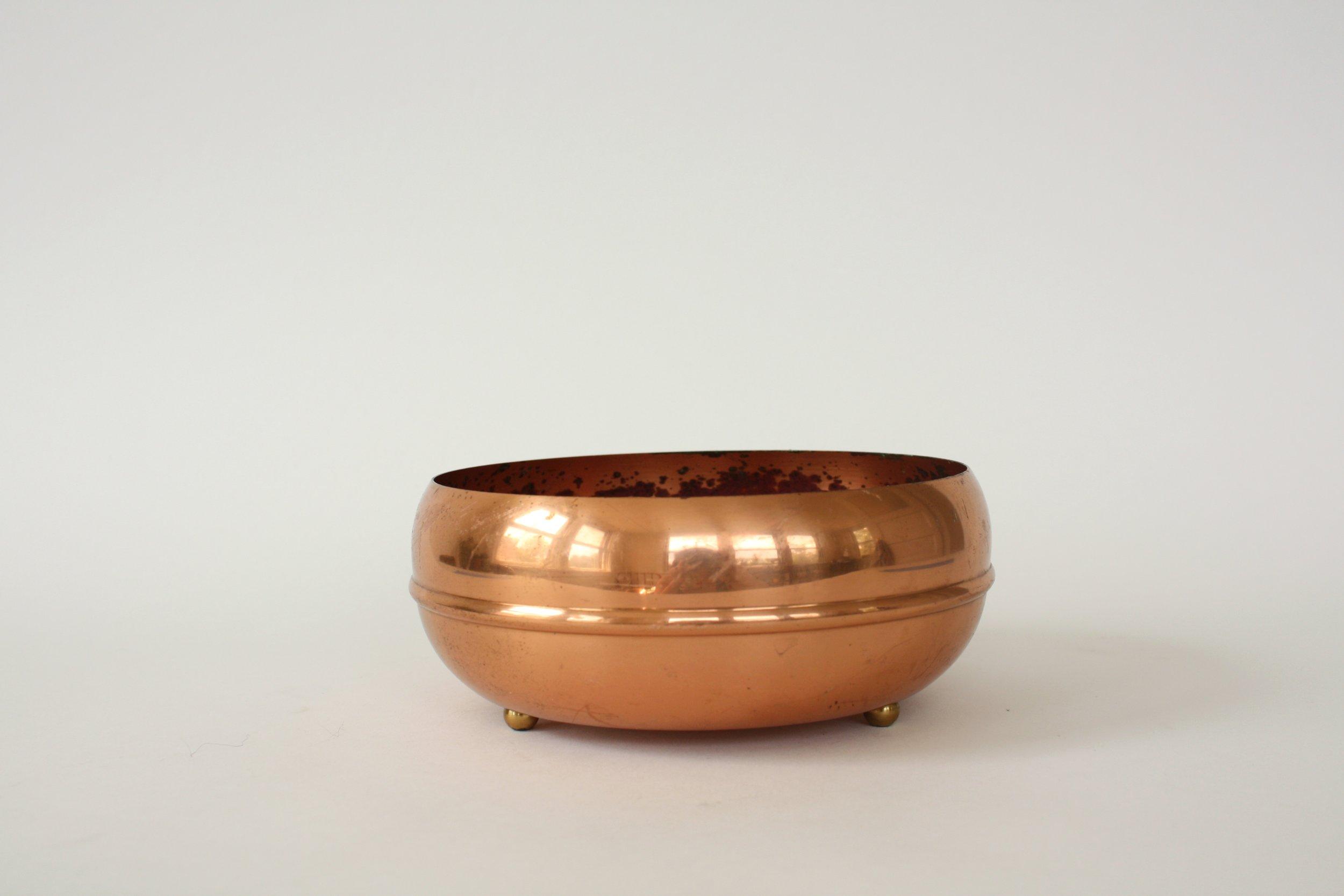 "201. copper bowl | 5"" x 3"""