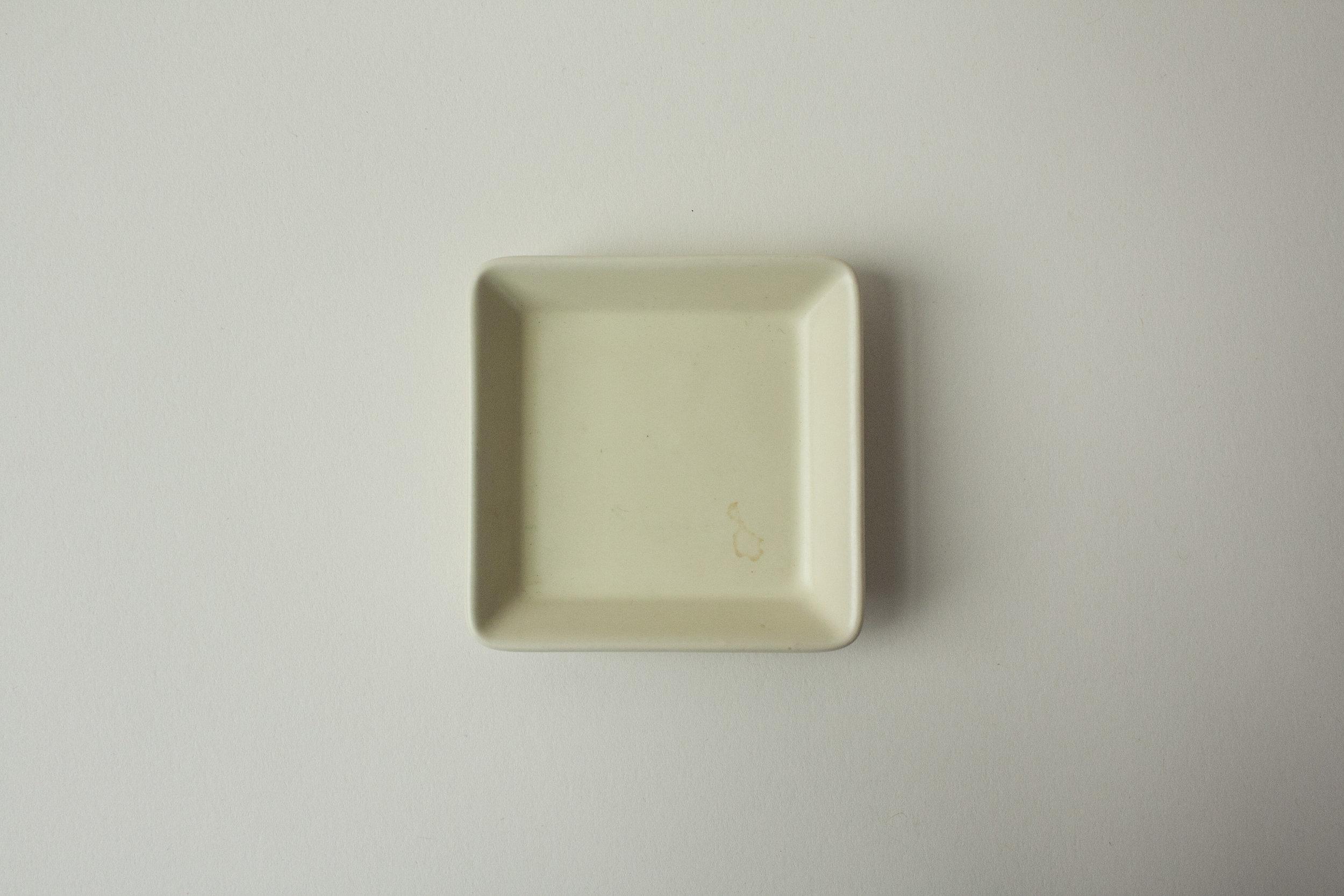 "663. square dish | 2.75"""