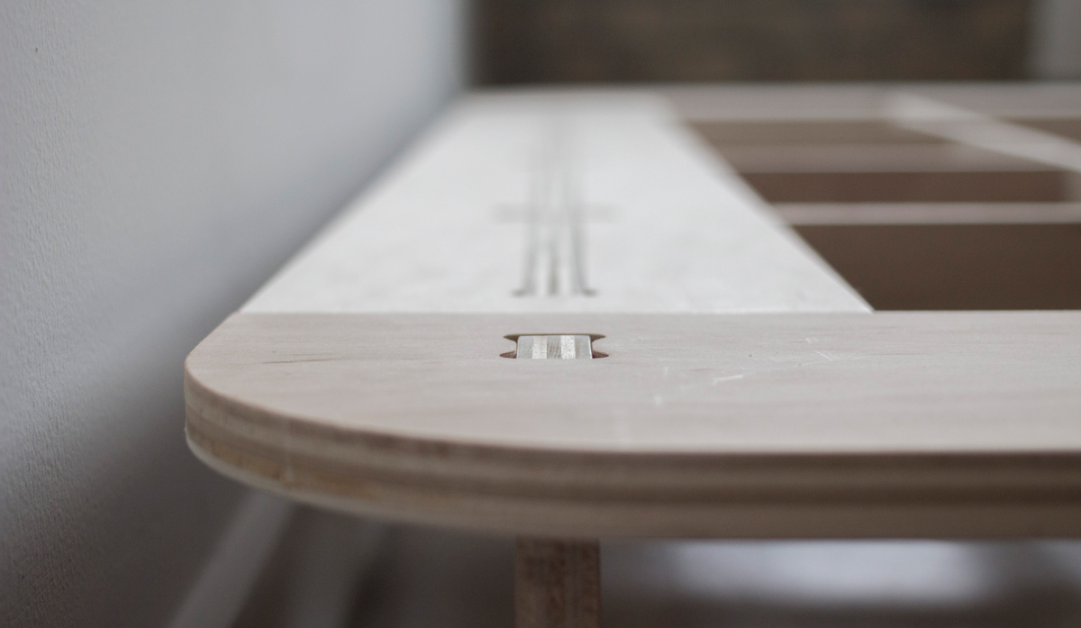 trestle bed frame — craig stover