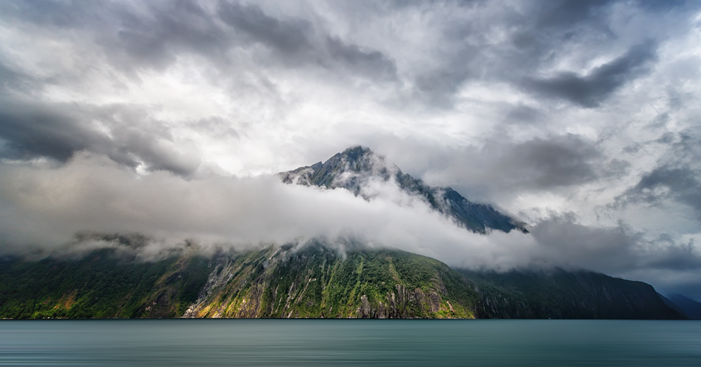 Mountain Reveal In Milford Sound 2