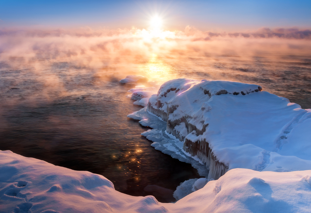 WARM HOPE AT DAWN