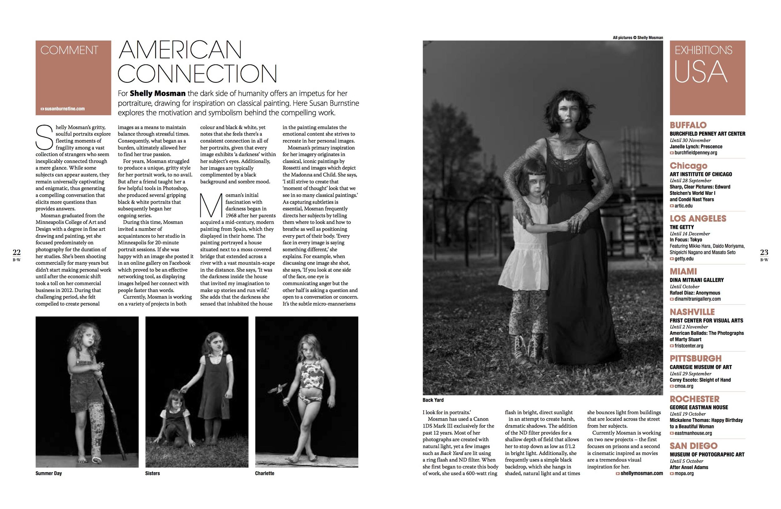 Courtesy of Black & White Photography Magazine (UK) issue 167