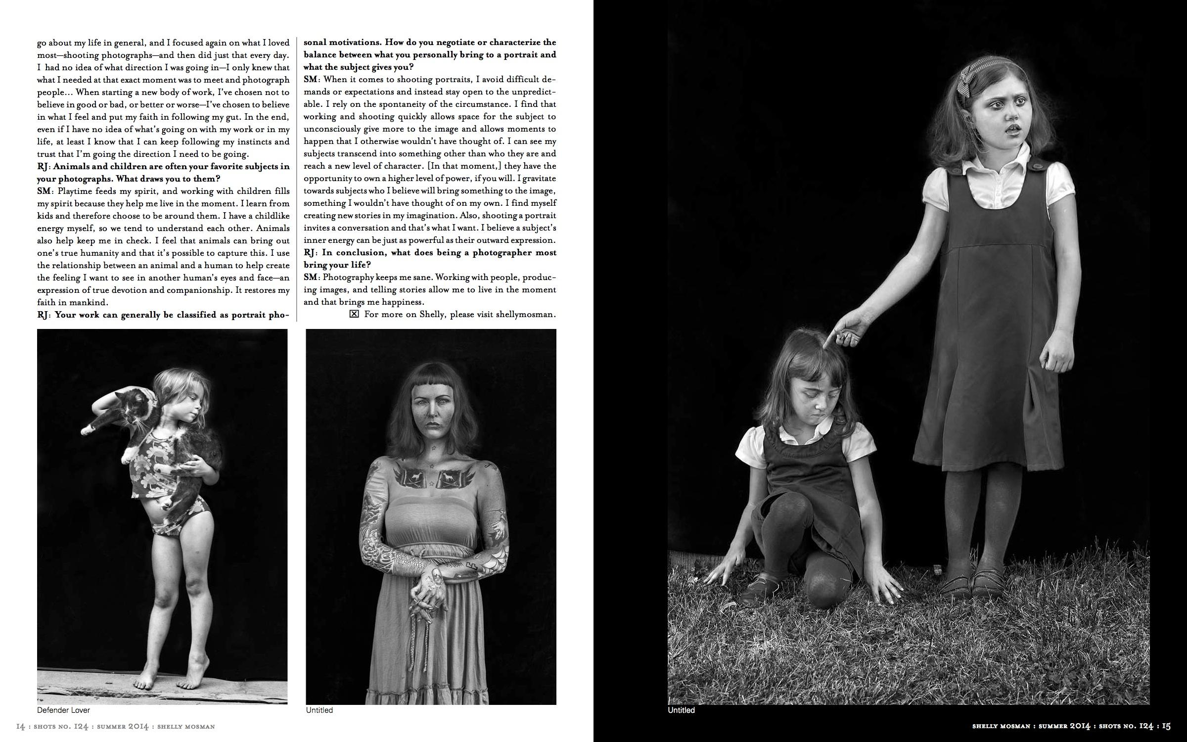 Shots Magazine - Summer 2014