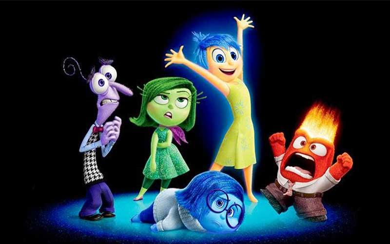 Pixar,Inside Out Characters,Closeup © Disney