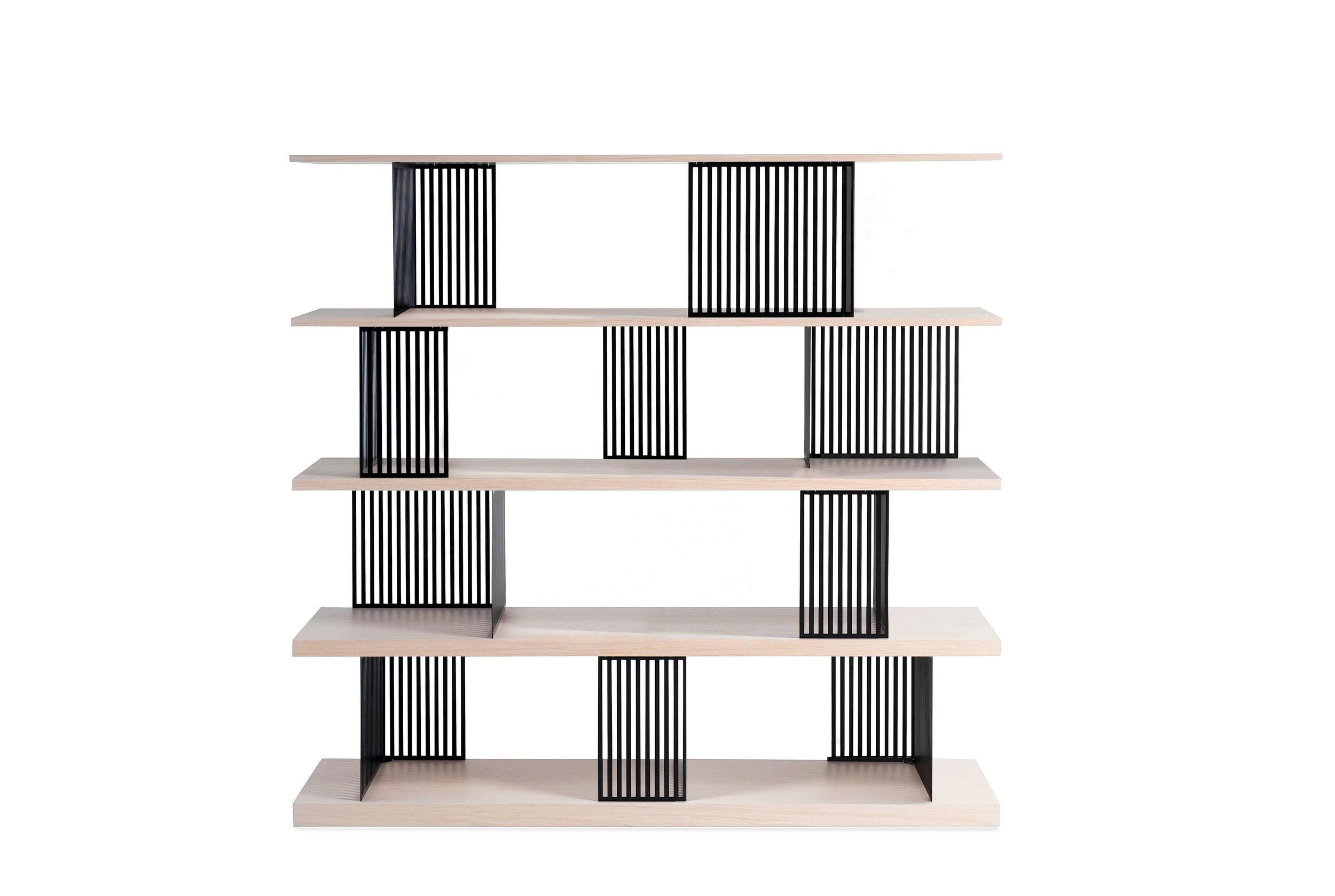 PARTITION bookshelf — photo courtesy of Roche Bobois