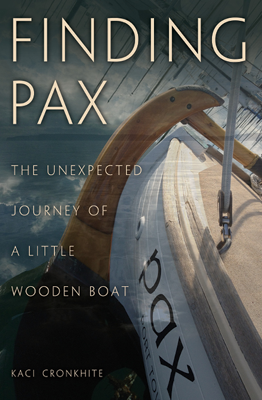 SOLD OUT - HISTORY OF FINDING PAXThe first edition of Finding PAX was launched August 2016 at the 40th Port Townsend Wooden Boat Festival and sold out in less than a year. More than 1500 people in 26 states and four countries purchased the book. Many were surprised by the ways the story touched their hearts, according to reviews.In October 2017, Adlard Coles/Bloomsbury of London,  acquired worldwide rights to Finding PAX and a prequel, WHEN A COWGIRL GOES TO SEA, by Kaci Cronkhite.