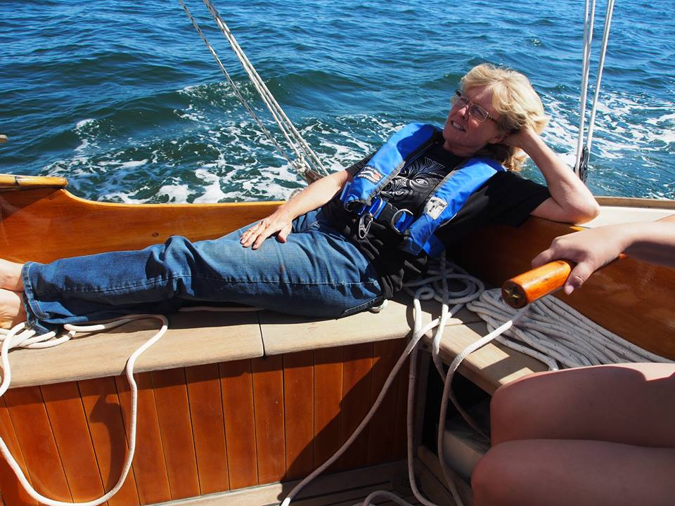 And, of course, sail and take good care of PAX (peace) - my 1936 Danish built