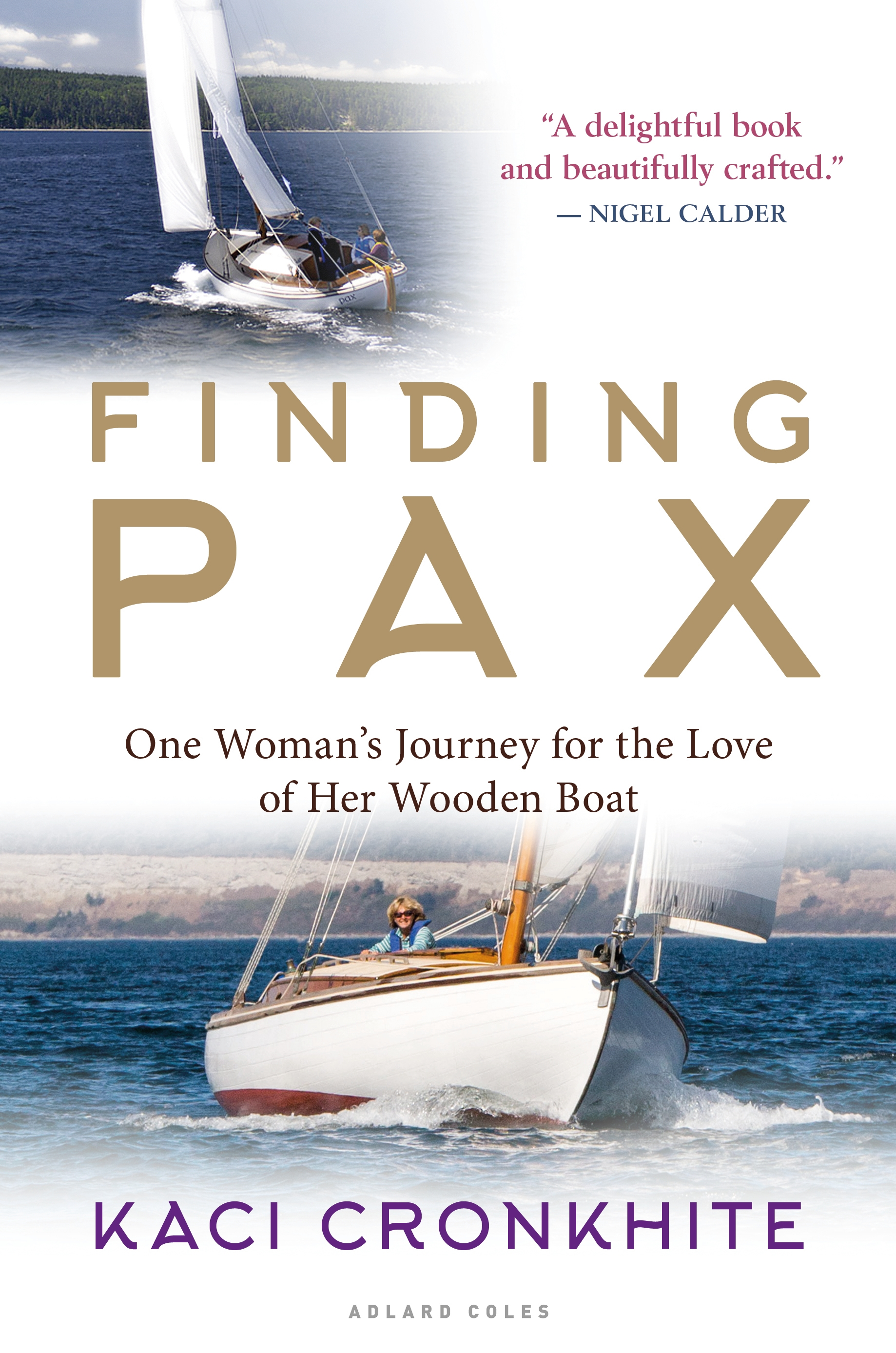 "Expanded Edition! Fall 2018 - Finding Pax is a story of discovery and reconnection like no other. Having fallen hopelessly in love with a 1930s Danish spidsgatter, a beautifully constructed 28 ft wooden double-ender, circumnavigator Kaci Cronkhite embarked on an international search to unravel the mystery of the boat's past, and discovered the many lives Pax touched since she first hit the water in 1936.The search took her to remote harbors of British Columbia, to a 3-generation marina in the Port of Los Angeles', and to the harbors, boatshops, archives, and homes of generations in Denmark. What she found changed some families' history. ""By finding her story, you've given us ours,"" said the granddaughter of the boat's builder, Karl Thomsen. The writing is poetic, spare, and full of wisdom."