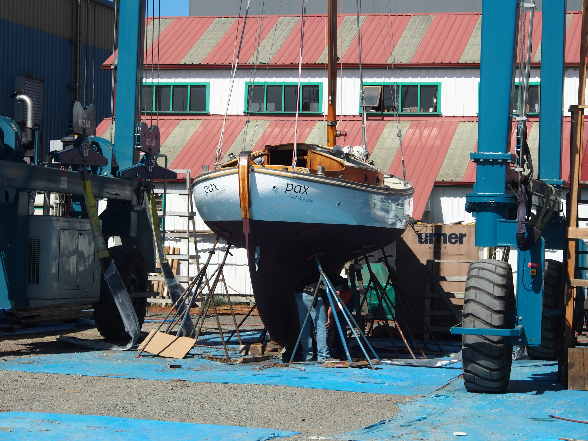 PAX: 1936 wooden boat getting 2017 makeover
